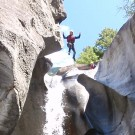 Canyoning Valle Riviera jump