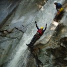 Canyoning Valle Verzasca Advanced slide